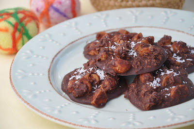 Nourishing Meals: Chocolate-Macadamia Nut Clusters