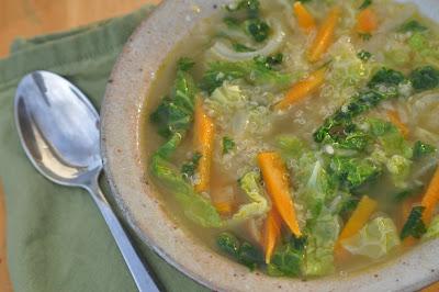 Nourishing Meals: Healing Quinoa Cabbage Soup