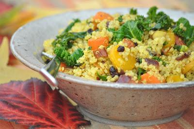 Nourishing Meals: Moroccan Quinoa Pilaf