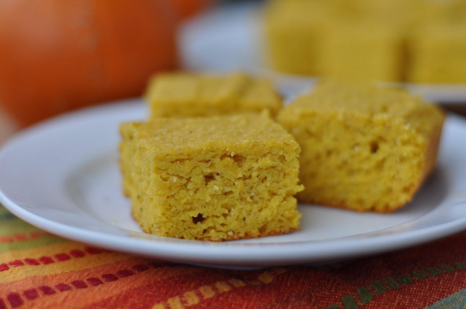 Gluten-Free Pumpkin Quinoa Cornbread