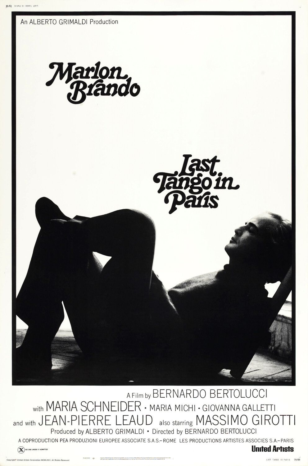 last tango in paris Last tango in paris is an important film because of the way it deals with film  history by showing the inadequacy of and parodying two recent influential film.