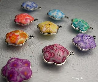 цветочные шармики