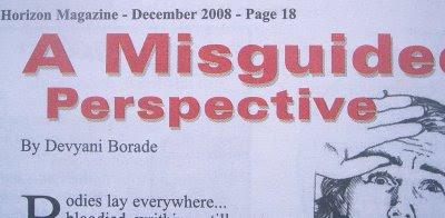 devyani borade - verbolatry - a misguided perspective - horizon