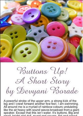 devyani borade - verbolatry - buttons up! - the gift of stitching