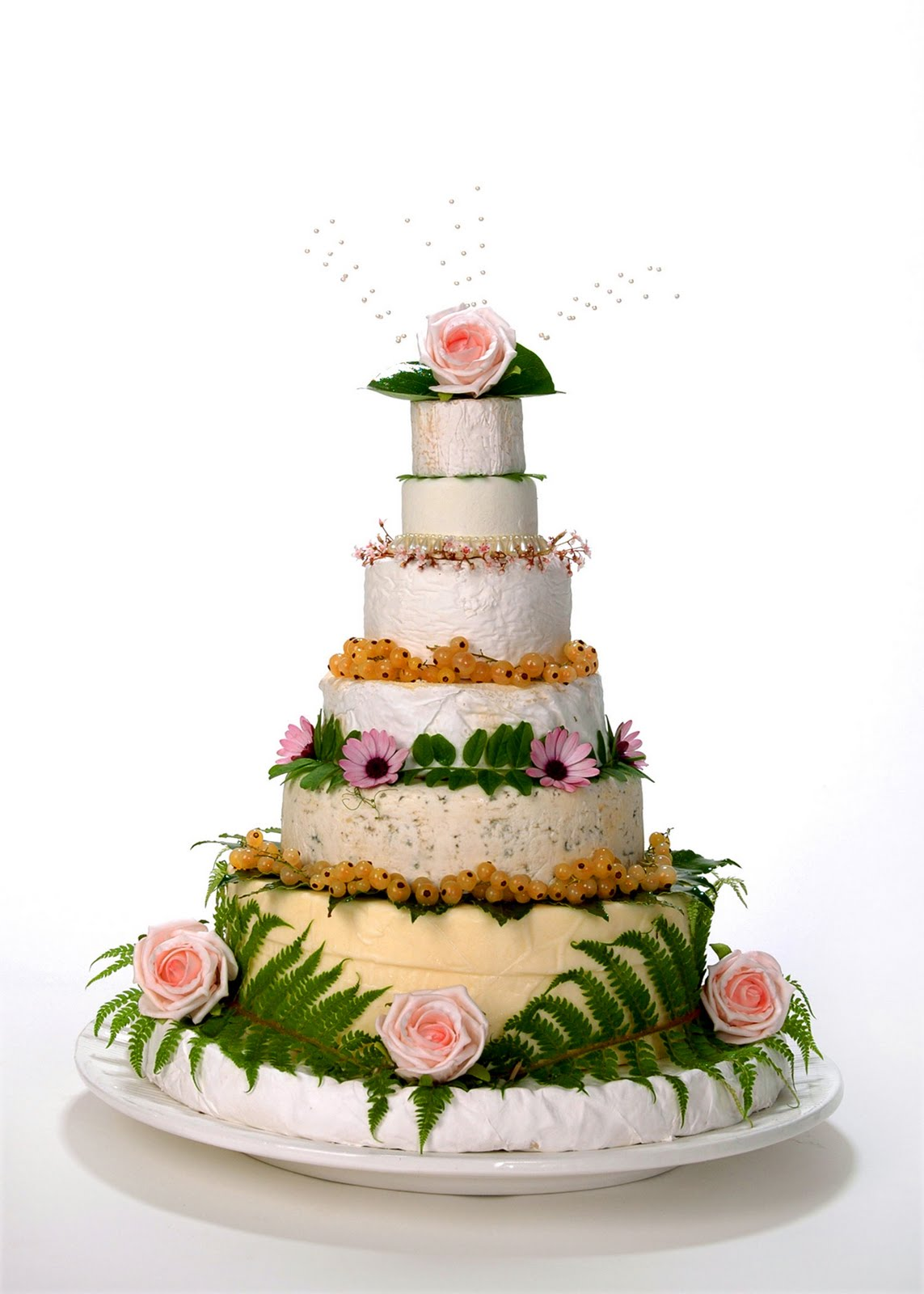 Buttery Wedding Cake