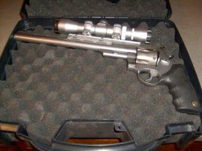 taurus 44 magnum revolver. Taurus 44 Magnum Hunter