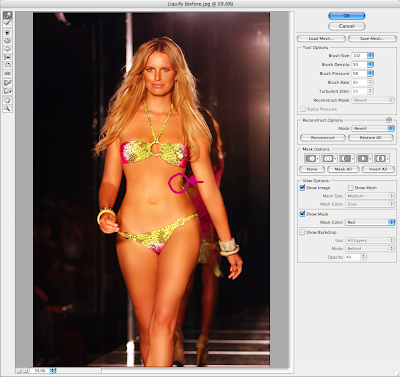 how to make breasts look smaller in photoshop