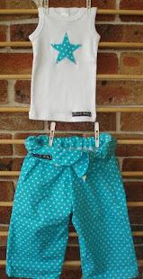 fisherbaby pants & singlet sets