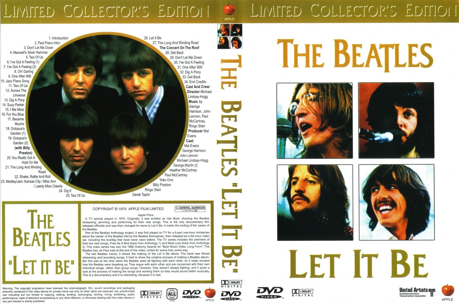 The Beatles - Let It Be Sessions Anthology (CD