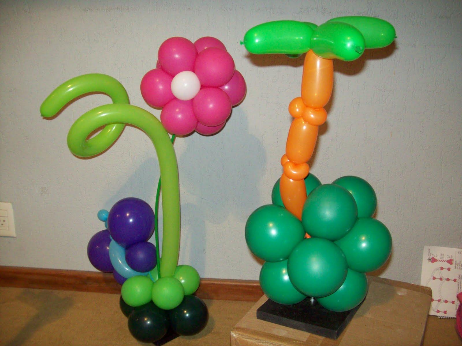 Enfeite De Balão ~ Balões& Alegria Enfeites Mesa com Bal u00e3o