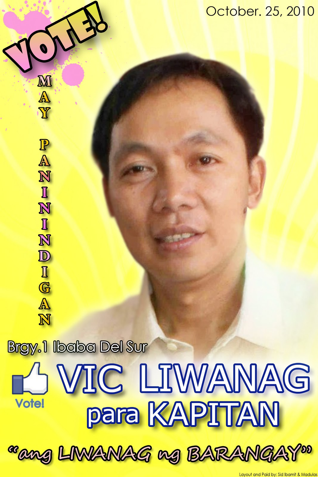 barangay elections in the philippines By atty gregorio larrazabal history will bear me out when i say that barangay elections in the philippines are the most flexible either they 28 jan 2018 - 10:00 pm.
