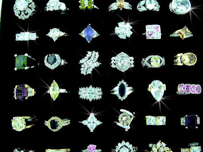 CZ jewelry- rings