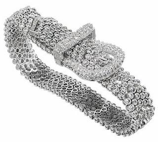 Nori's CZ Buckle Bracelet