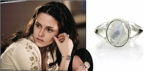 Celebrity Style Jewelry - Bella's Moonstone Ring from Twilight