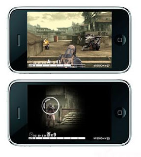 Metal Gear Solid Touch iphone