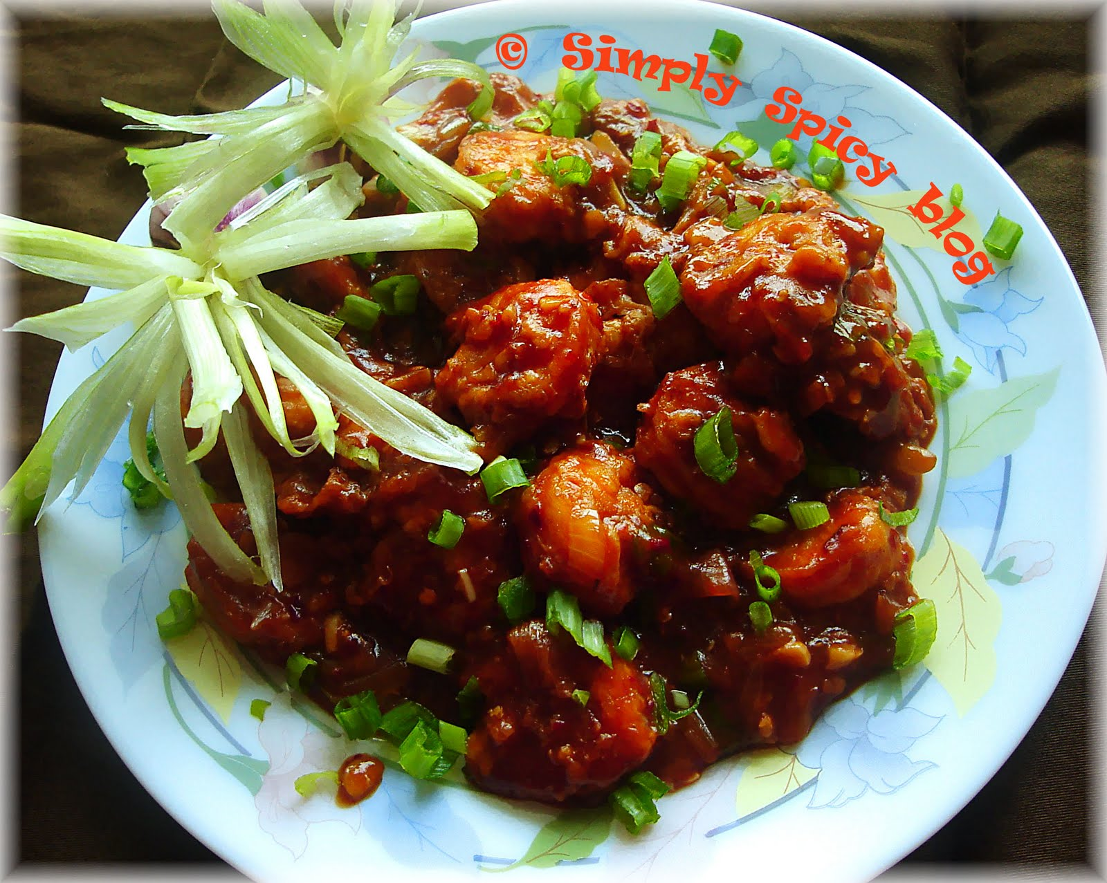 Simply spicy prawns in hot garlic sauce prawns in hot garlic sauce forumfinder Images