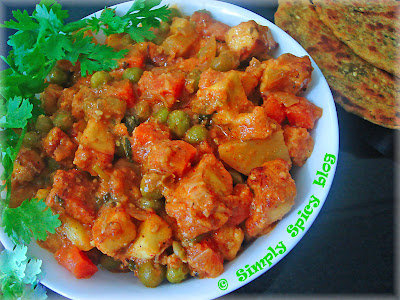 Simply Spicy: Navratan Korma