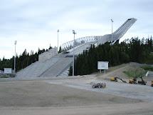Atreya Rocks Norway Oslo Holmenkollen Ski Jump