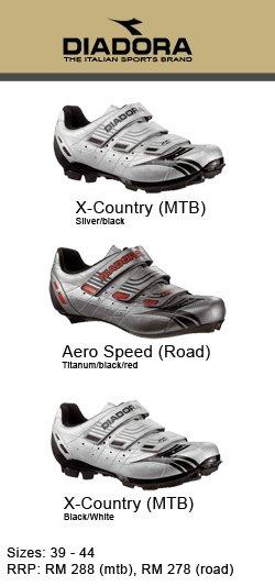 The DIADORA Cycling Shoes