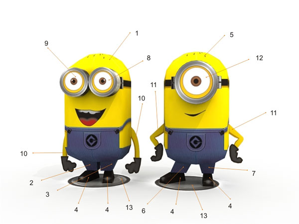 despicable me: Free printable 'despicable me' and minions coloring pages