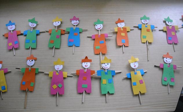 ideias para o outono jardim de infancia : ideias para o outono jardim de infancia:Educ@ naWeb .Pré-Escolar: Espantalho fantoche