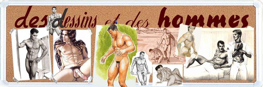 dessins virils