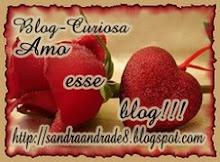 """MIMO DA CURIOSA - """"Amo esse blog""""!!!"""