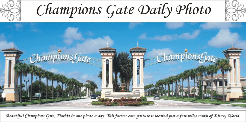 Champions Gate Daily Photo