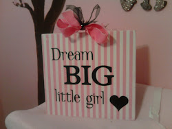 Dream Big Little Girl- Wall Sign