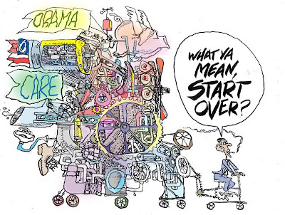 Health care summit cartoon