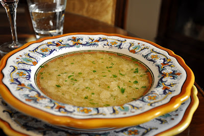 Chicken And Swiss Chard With Couscous In Brodo Recipes — Dishmaps