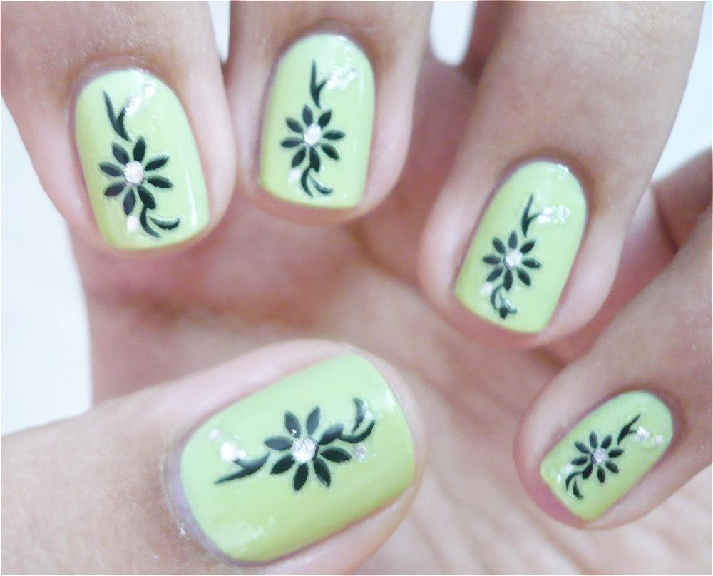 Cool easy nail designs for short nails