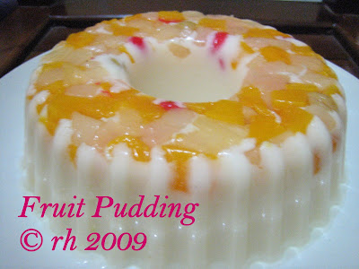 Milky Fruit Pudding