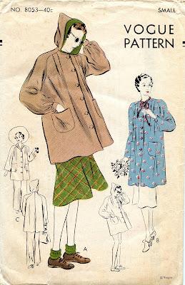 Vogue Pomodoro Sewing Pattern Swing Coat Sheath Size 12-16 UNCUT