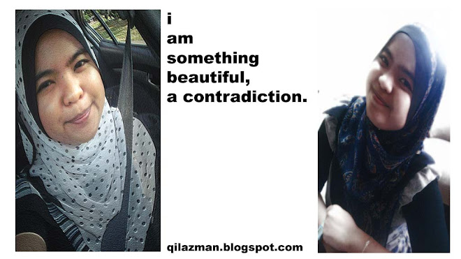 I'm Something Beautiful, A Contradiction.