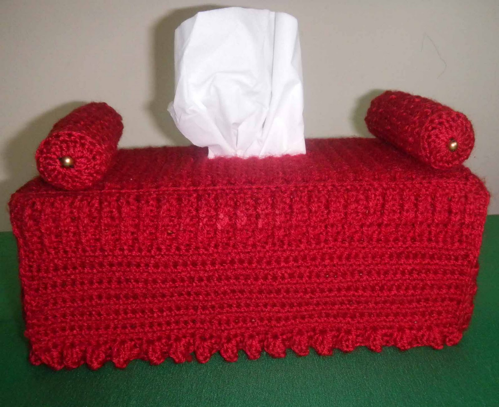 sandvicrochet: Crochet Diwan tissue box cover
