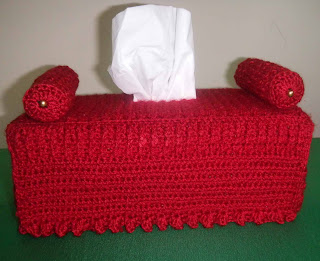 Crocheted Tissue Box Cake Ideas And Designs