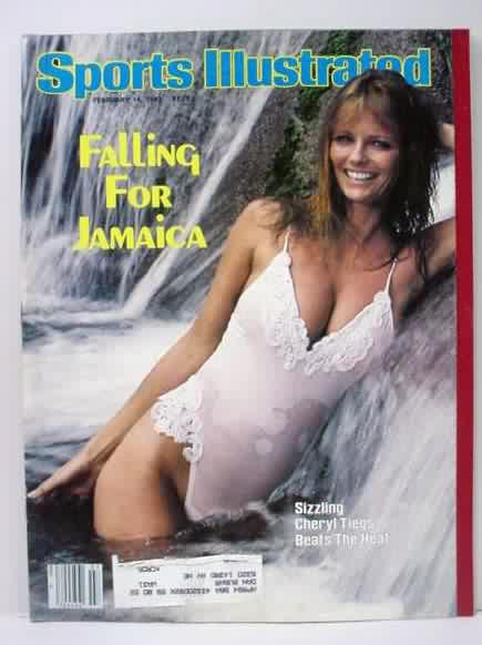 Cheryl Tiegs hits 63. 1970 cover of Sports Illustrated