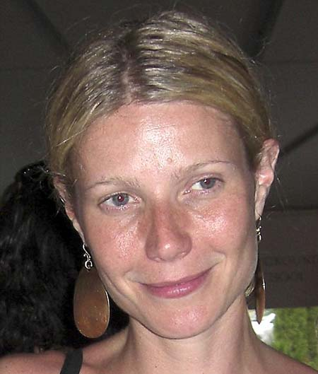 Girls Without Makeup. Gwyneth Paltrow