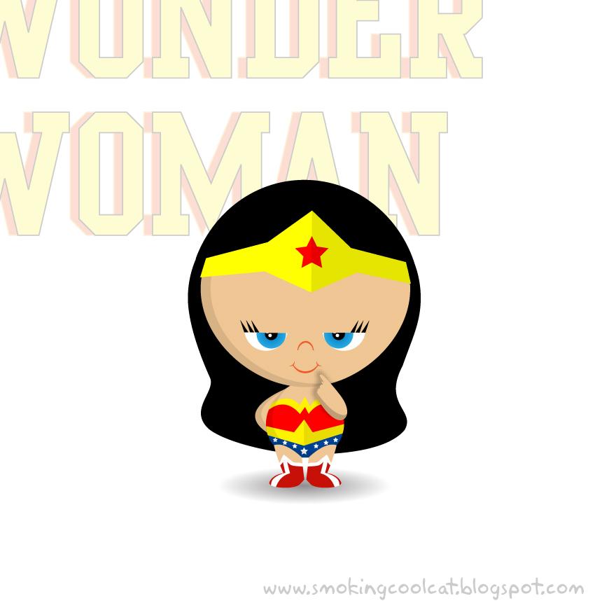 It's just a photo of Sweet Cute Wonder Woman