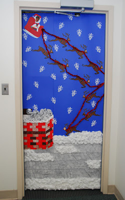 Paige Seven: Holiday Door Decorating Contest