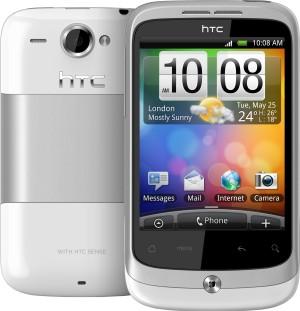 HTC Wildfire White HTC Wildfire Teknosa