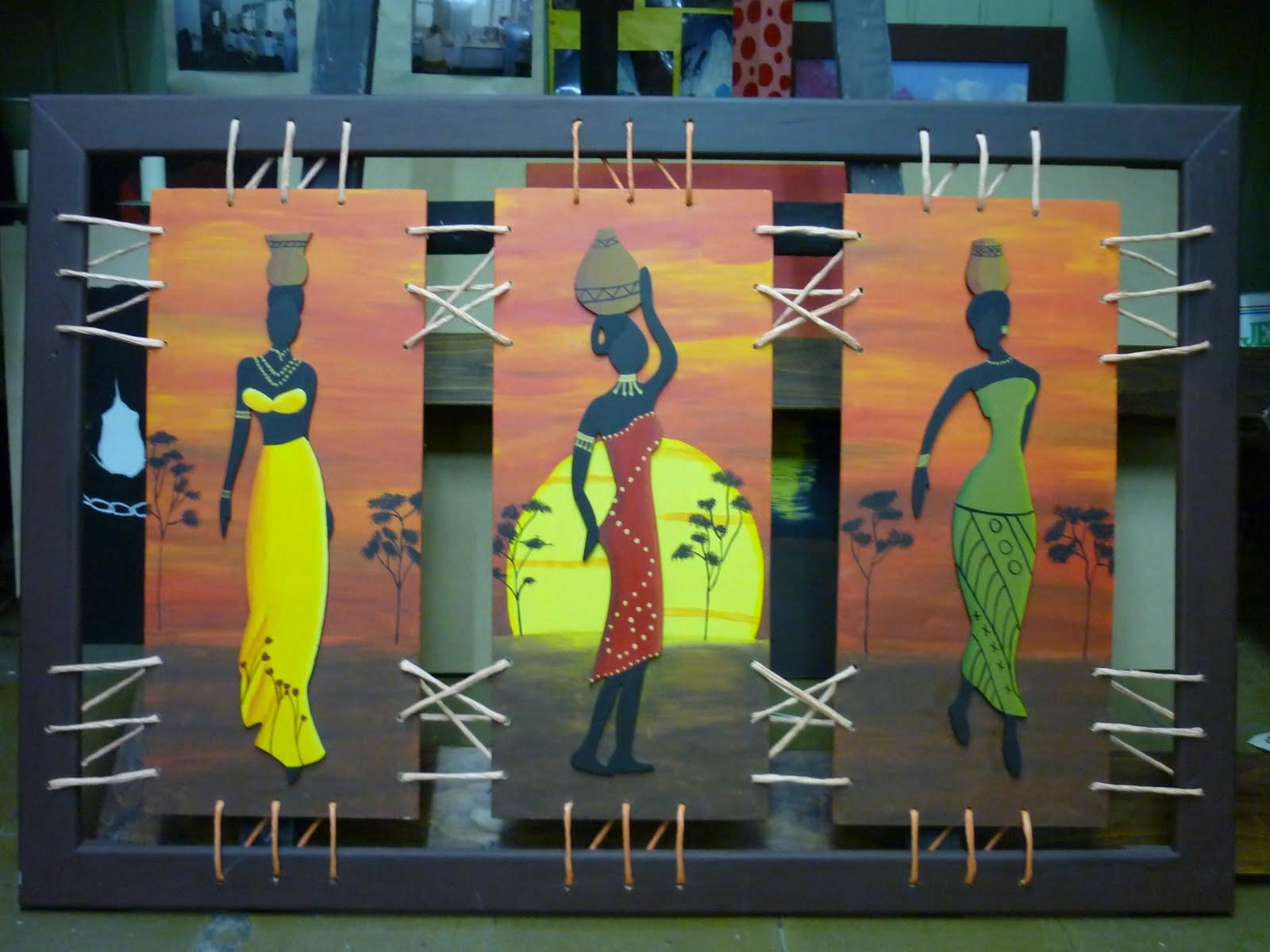 CREACIONES DE SILVIA: Triptico de NEGRAS, por SILVINA T.