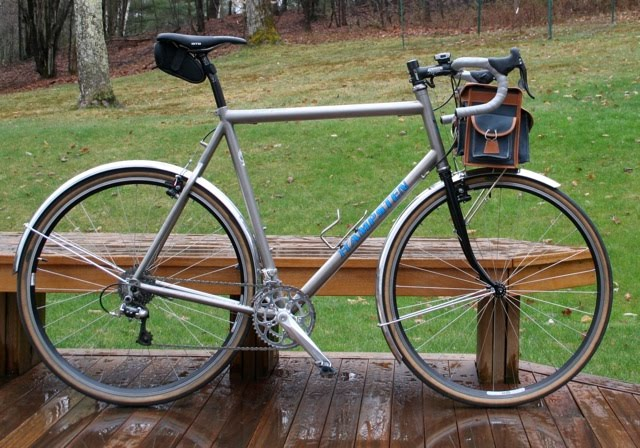 There S Just Something About Titanium Hampsten Cycles
