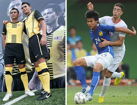Mana jersi baru bola sepak Malaysia?