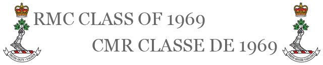 RMC Class of 1969 / CMR Classe de 1969