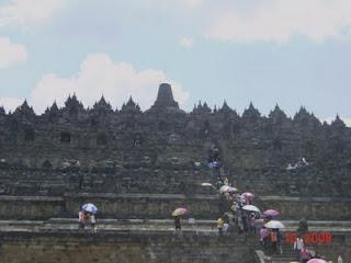 family vacation spots - borobudur temple - java indonesia