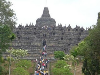 borobudur temple, tourist attraction, java, central java, travel place