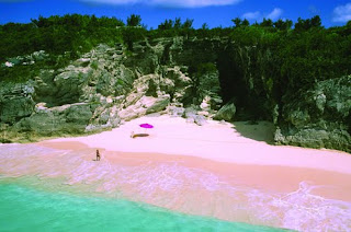 Pink Sands Beach, Harbor Island in the Bahamas