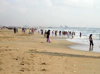 Chennai Tourist places, vacation spots, tourist attractions, marina beach chennai